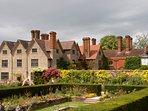 Packwood House is a stunning National Trust property less than half an hour's drive away in Lapworth