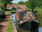 Near canals and towpath walks, .