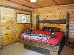 Main Lodge Area - Private Bedroom w/ full bath / King