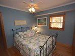 Let the Kids or Guests Wind Down after a Fun Filled Beach Day in this Lovely Guest Bedroom Queen Bed, Flat Screen Cable...