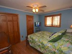Unwind after a fun day at The Beach in this Spacious 2nd Bedroom with Queen Bed, Cable TV