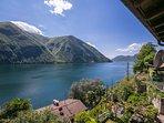 Amazing view on Lake Lugano
