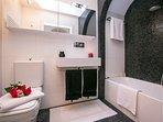 Bathroom with a tub
