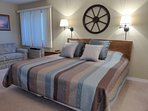 Second Suite with King Bed and Queen Sofa/Bed