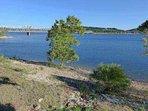 Swim Deck View of Lake and MO HWY 13 Bridge