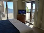 Master Suite with View of Pool and Tablerock Lake