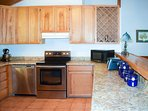 The family chef will love the large, very well equipped kitchen