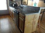 Kitchen, Dishwasher and Sink