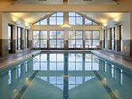 Guests enjoy access to SpaTerre amenities at Teton Mountain Lodge including indoor and outdoor pools