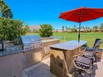 Large Professional BBQ and Island