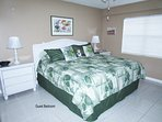 Second Bedroom - King bed