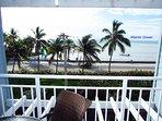 Ocean View from condo Veranda