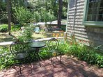 Lovely patio with gardens to sit and have a nice cup of tea or your favorite beverage in the afternoon - 14 Pine Ridge...
