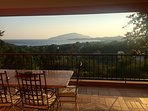 Magnificent views of the Aegean sea from private veranda