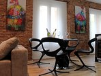 La silla CALLITA, de DISEÑO ITALIANO, ligera en diseño pero robusta y cómoda.