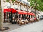 The neighborhood: the Champs Elysées avenue