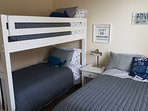 Bedroom 4-Bunk Bed and Full Bed