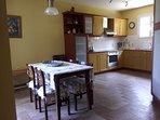 Dinning room kitchen area