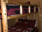 Guest Bedroom w/Queen Bunk Bed