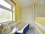 Family Bathroom with bath, hand basin and toilet