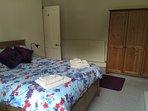 Master bedroom. Large wardrobe.