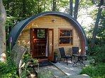Serenio is a romantic hideaway with an unique curved shape