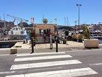 En route vers les Calanques (vieux port de la Ciotat)