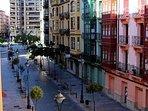 Edificios en la Calle Canalejas