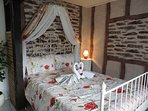 Romantic main bedroom
