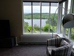 Loch view from lounge