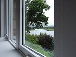 Bedroom 1 loch views - you can just see Kilchurn Castle from here.