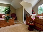 Cedar - Hand made Furniture- sitting area