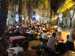 Old square Santa Faz full of many restaurants is 5 mins away from the apartment.