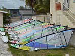 Windsurfing equipment for rent