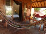 New hammock for relaxing!
