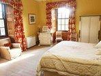 'Red Deer' double bedroom