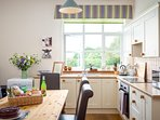 The Farmhouse kitchen/ dining room