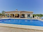 Casa Paz is a detached villa with private gardens and pool for relaxing in