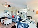Bright Coastal Living Area