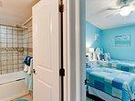 Bedroom 2 to Bath 2