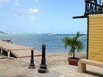 Boqueron Bay sailboats