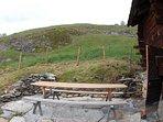 Terrasse - Chalet Nid d'Aigle, un mayen authentique en Valais