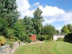 Wrap round private garden