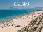 playa de Gandia ideal para familias y jovenes
