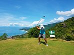 Royal Samui Golf Course - less than 5 minutes from The Calvie.