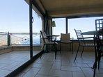 Patio and balcony