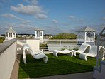 Private Roof top lounge Area