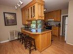 Upper - nice open kitchen