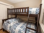 Lower - 2nd bedroom with bunkbed