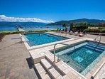 Seasons outdoor heated pool and hot tub